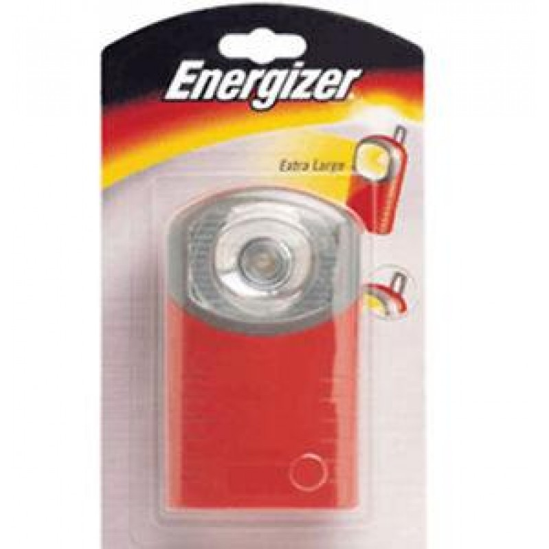 ENERGIZER RED COMPACT POCKET TORCH 1x3R12