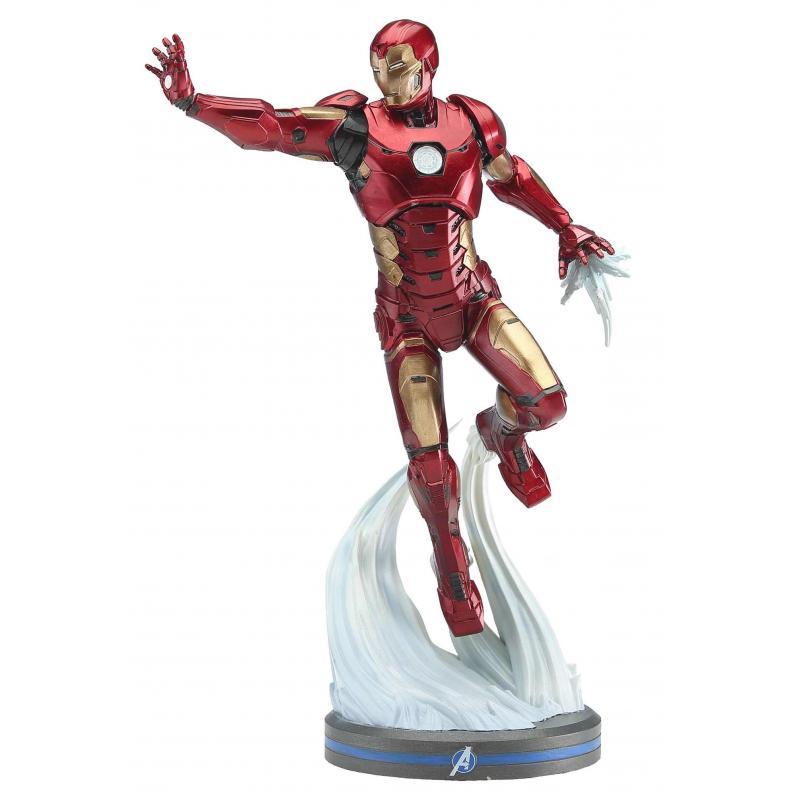 PCS Collectibles - Marvel Gamerverse Avengers: Ironman 1/10 PVC Statue (JUN209127) 656793638328