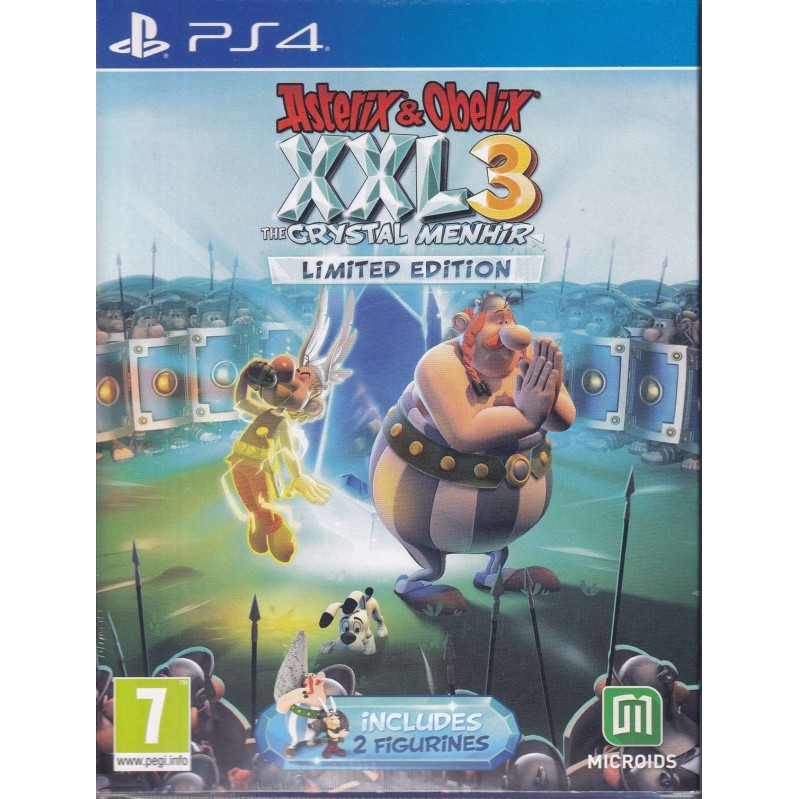 PS4 Asterix and Obelix XXL 3: The Crystal Menhir - Limited Edition