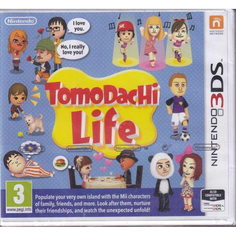 3DS TOMODACHI LIFE (CRD) 120