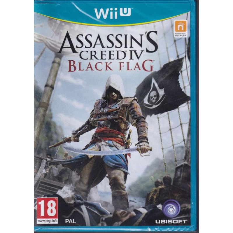Assassin's Creed IV (4) Black Flag  Wii-U