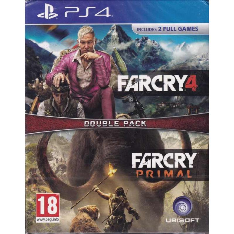 Far Cry Primal and Far Cry 4 (Double Pack) PS4
