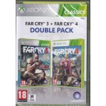 Far Cry 3 and Far Cry 4 (Double Pack) -X360