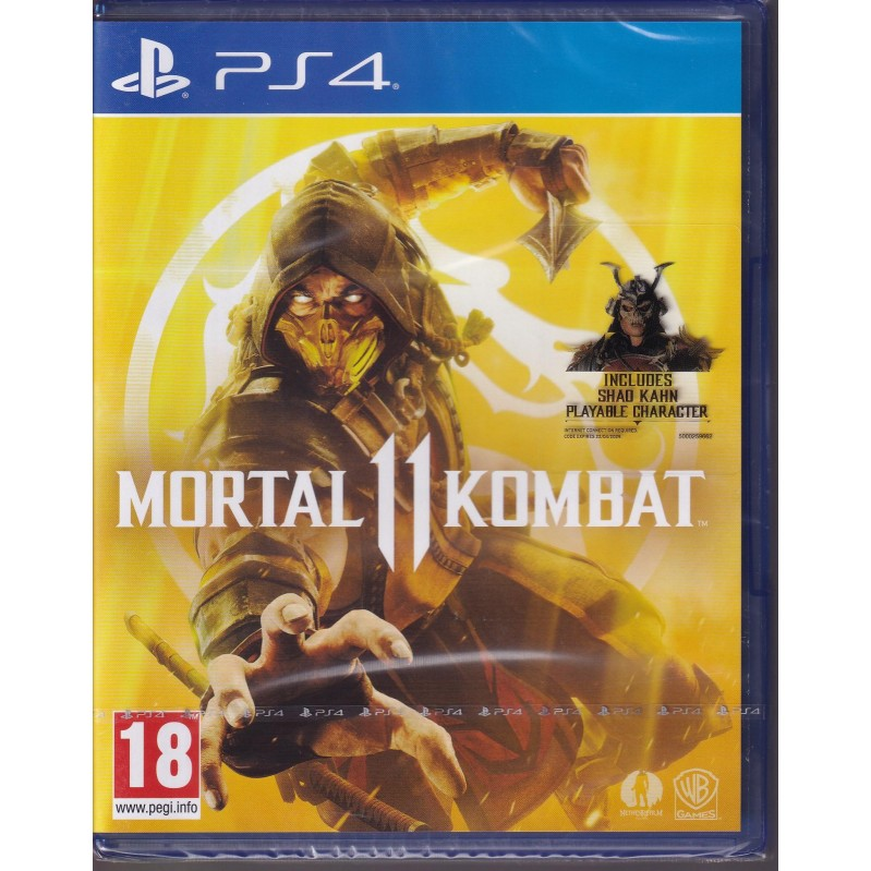 Mortal Kombat 11-PS4