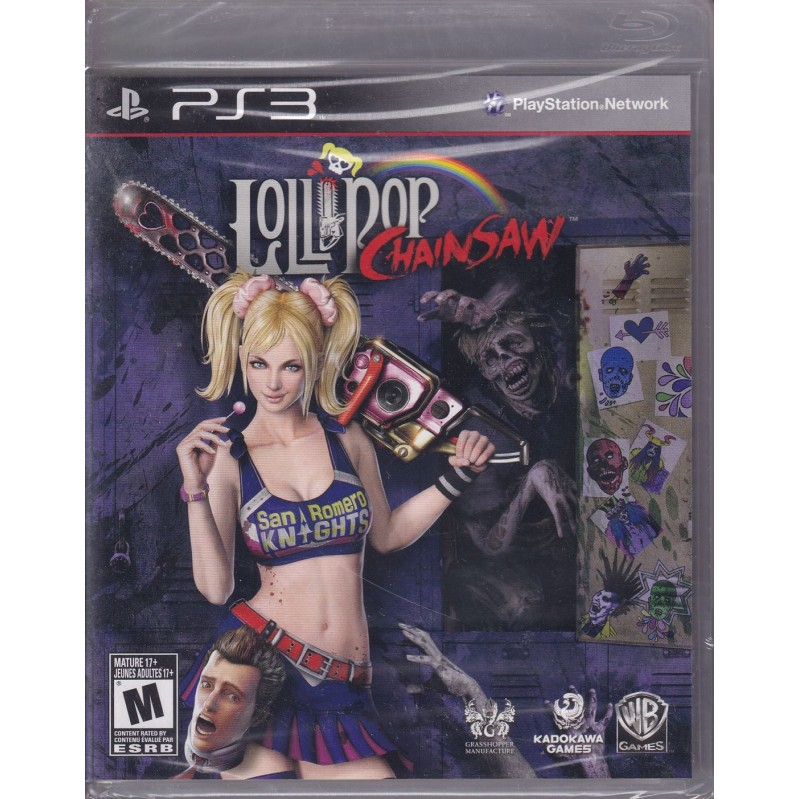 Lollipop Chainsaw  PS3