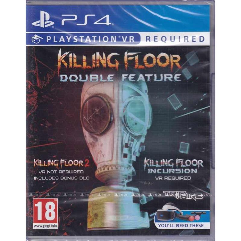 Killing Floor: Double Feature (For Playstation VR) PS4 (CRD) 52149