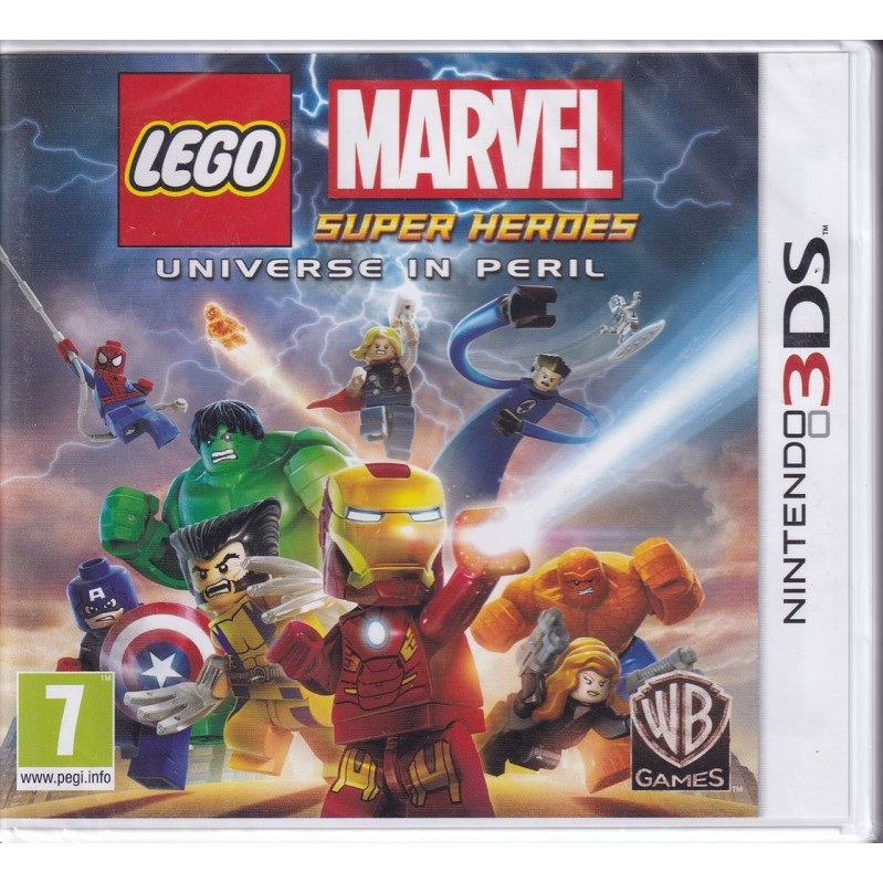 3DS LEGO MARVEL SUPER HEROES UNIVERSE IN PERIL