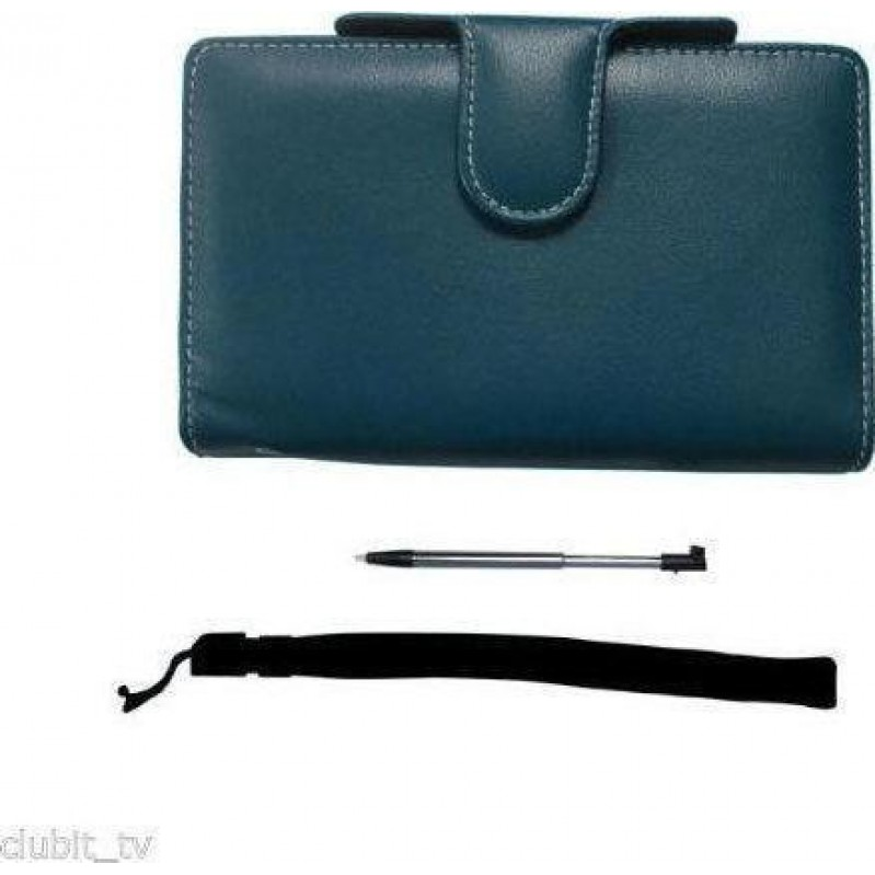 3DS PAIRandGO NINTENDO 3DS LUXURY PROTECTOR CASE ACCESSORY PACK BLACK AND STYLUS AND WRIST STRAP
