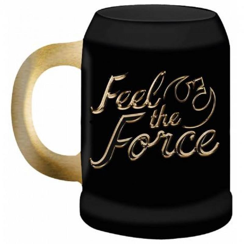 Star Wars -  Feel The Force 570ml Gold Stein - SW05363