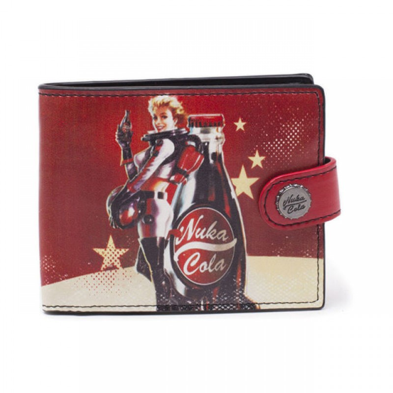 Fall Out 4 -  Fallout Nuka Cola Bifold Wallet - MW040201FOT
