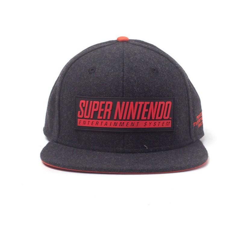 Nintendo -  SNES Logo Snapback Cap - SB738205NTN