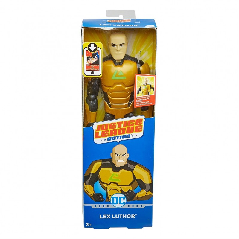 Mattel Justice League Action -  Lex Luthor Figure - 30cm  - FPC66