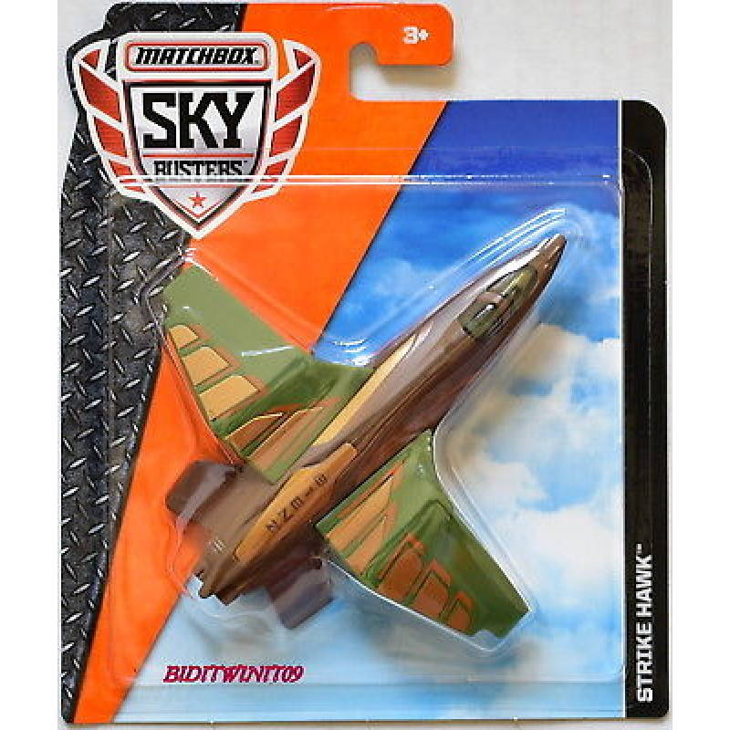Matchbox Skybusters Planes -  Classic Attack - DVR18