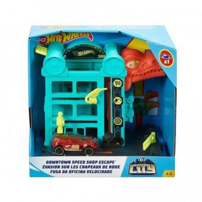 Hot Wheels City - Downtown Speed Shop Escape (GFY69)