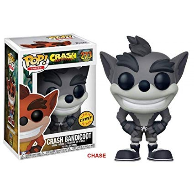 POP Games: Crash Bandicoot* 273 Vinyl Figure CHASE LIMITED EDITION