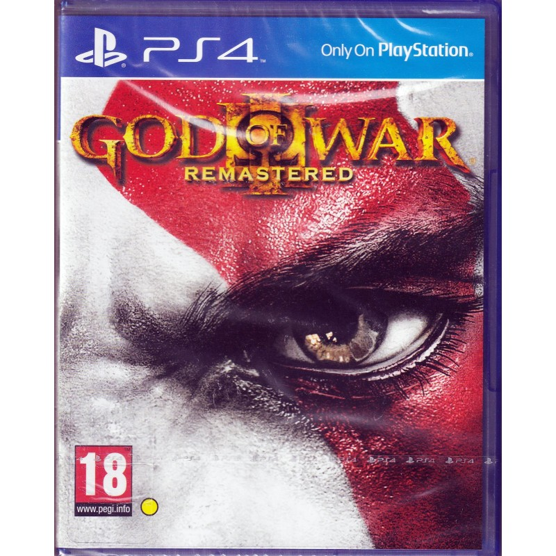 PS4 GOD OF WAR III - REMASTERED
