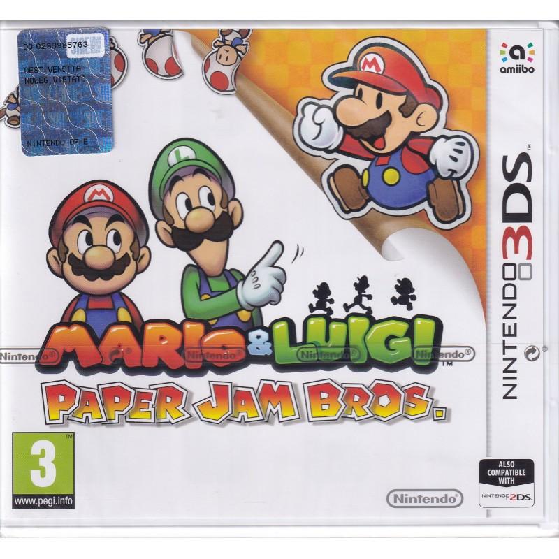 3DS MARIO AND LUIGI : PAPER JAM BROS.