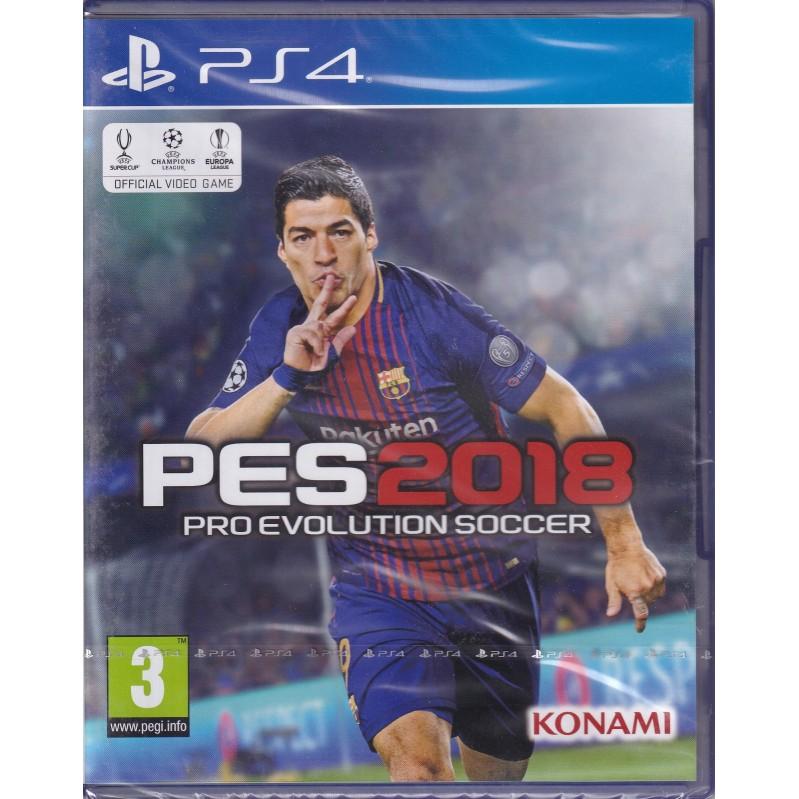Pro Evolution Soccer (PES) 2018  PS4