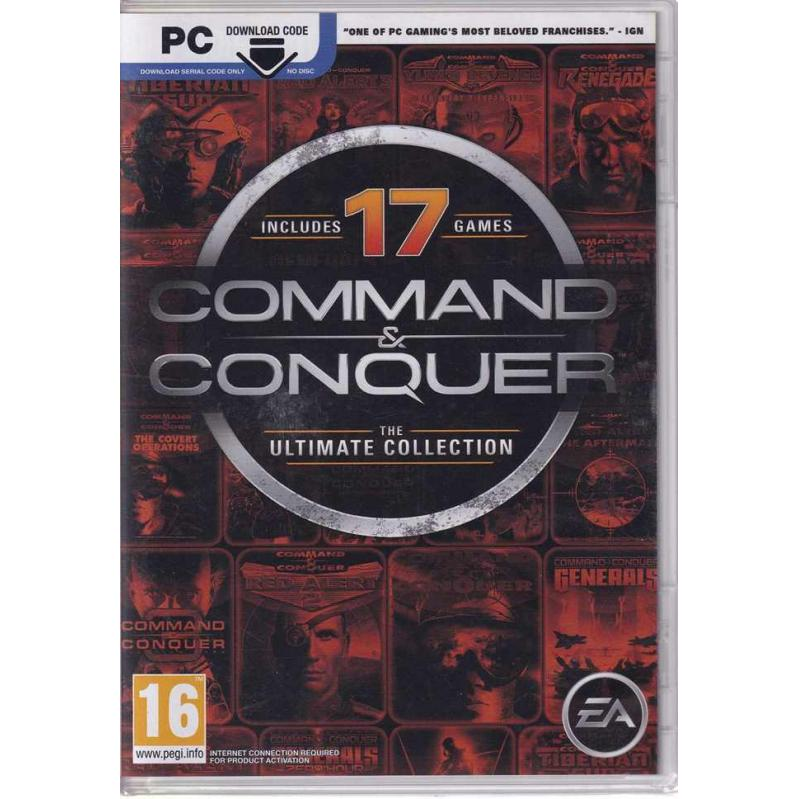 Command and Conquer: The Ultimate Collection  PC (CRD) 44094