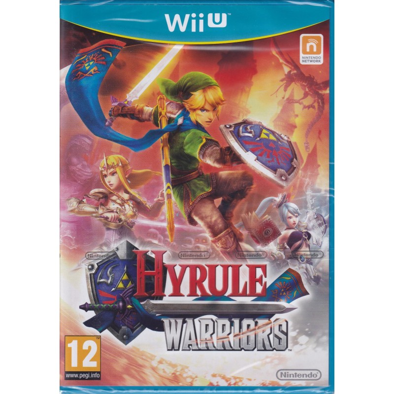 Hyrule Warriors  Wii-U