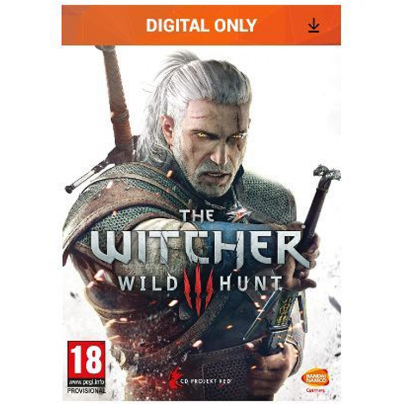 The Witcher III 3 Wild Hunt Key PC Game GOG Digital Download Code TW3 -Κωδικός για κατέβασμα χωρίς CD-DVD