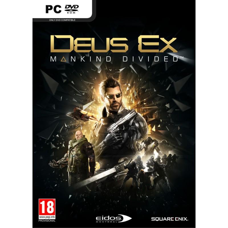 Deus Ex Mankind Divided Key PC  STEAM Digital-Κωδικός για κατέβασμα χωρίς CD-DVD
