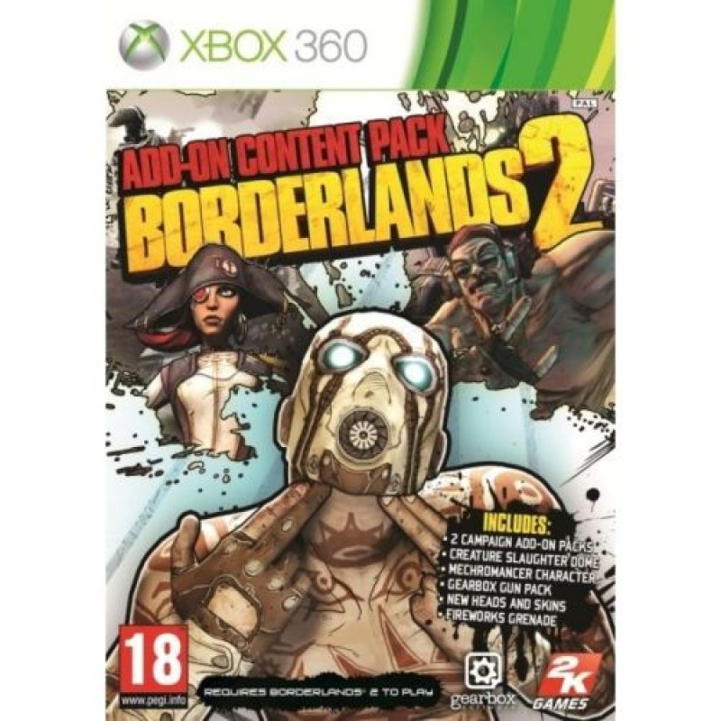 Borderlands 2 - Add-On Content Pack (Xbox 360)