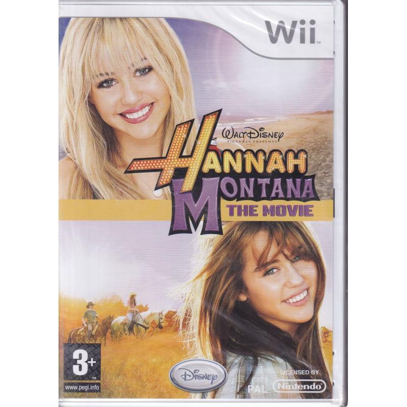 Hannah Montana The Movie -Wii (CRD) 52646