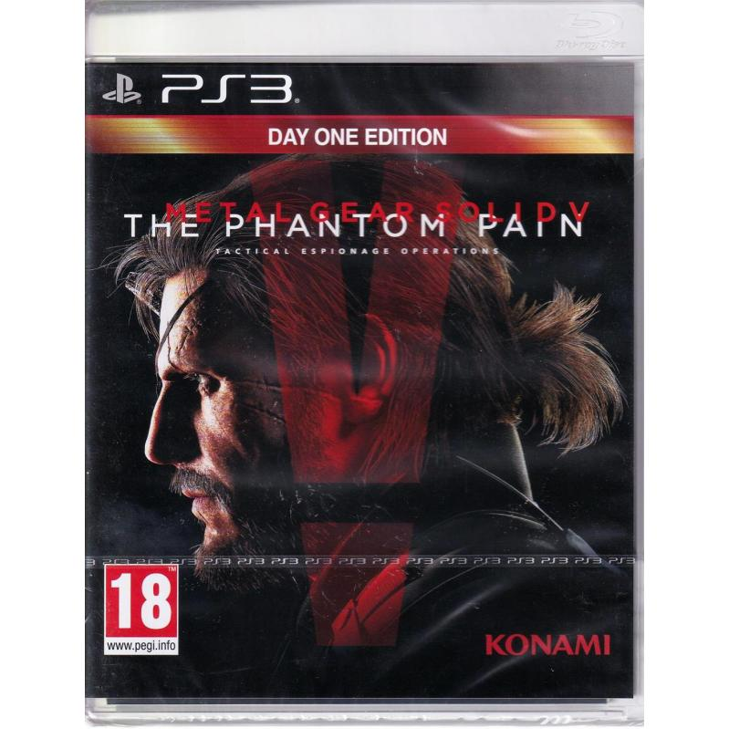 Metal Gear Solid V (5): The Phantom Pain - Day 1 Edition  PS3