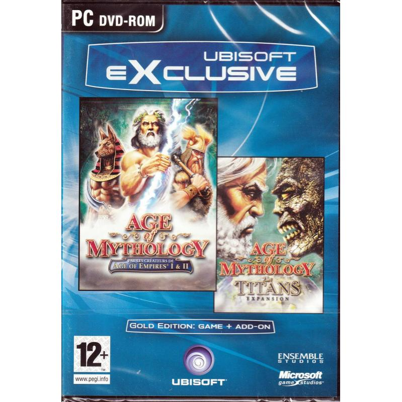 Age of Mythology incl. Titans Addon (GOLD)  PC