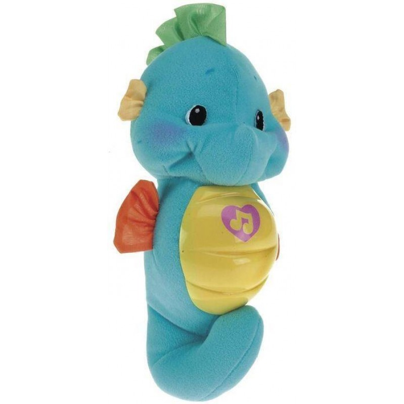 FISHER PRICE - NEW OCEAN WONDERS SOOTHE AND GLOW SEAHORSE - BLUE (DGH82)