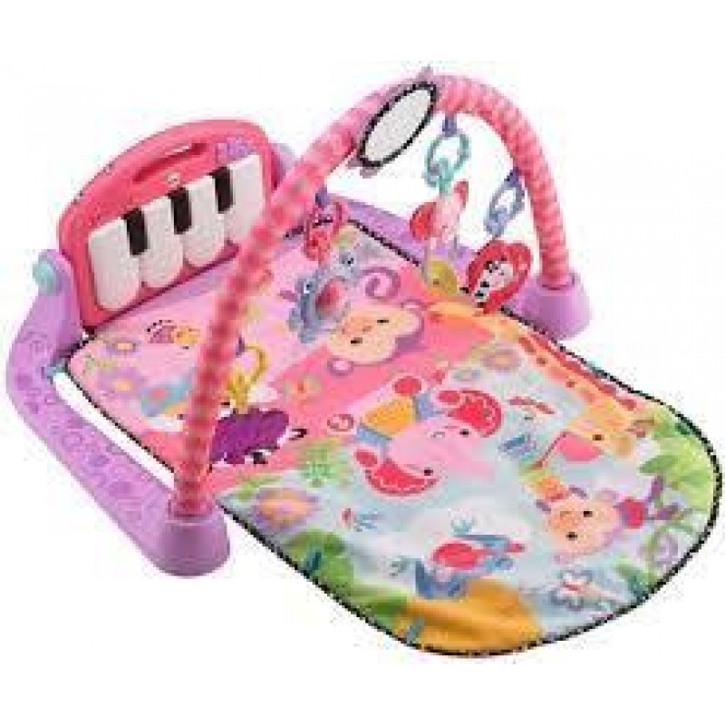 FISHER PRICE - KICK AND PLAY PIANO GYM - PINK (BMH48)