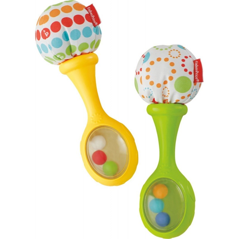 FISHER PRICE - RATTLE 'N ROCK MARACAS (BLT33)