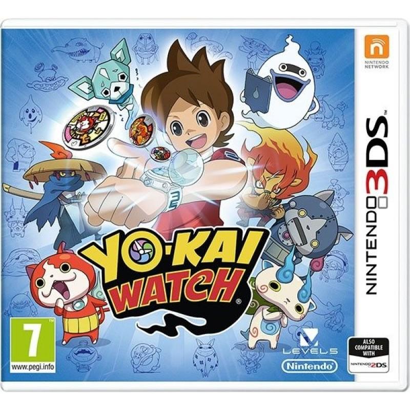 3DS YO-KAI WATCH USED