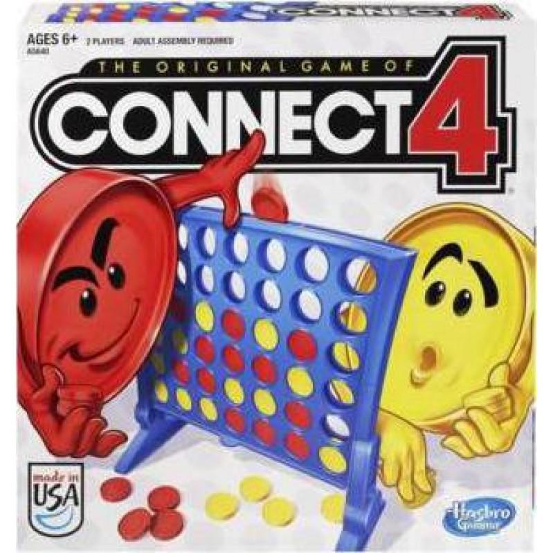 HASBRO SCORE 4-CONNECT 4 - BOARD GAME IN GREEK (Α5640)