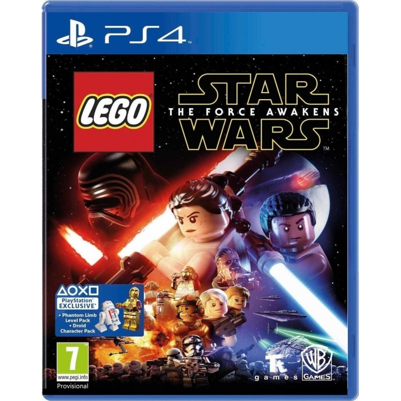 PS4 LEGO STAR WARS: THE FORCE AWAKENS - PLAYSTATION EXCLUSIVE