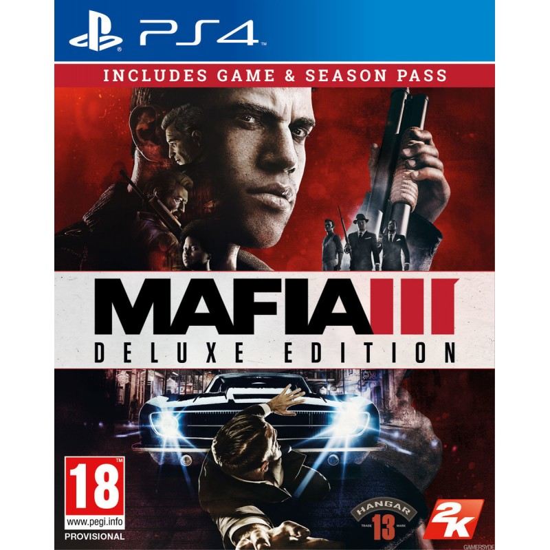 PS4 MAFIA III DELUXE EDITION (INCLUDES FAMILY KICK-BACK)