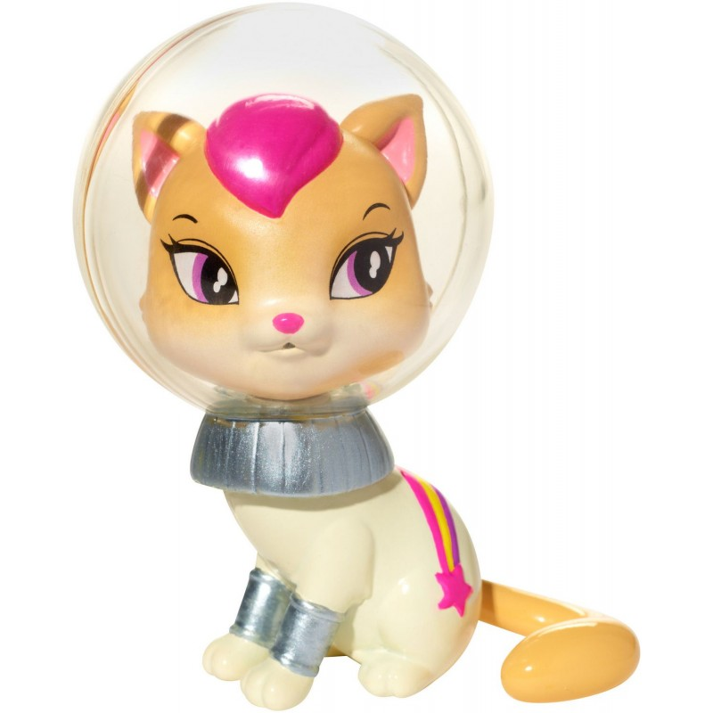 BARBIE ANIMAL SMALL FIGURE STARLIGHT ADVENTURE - WHITE CAT (DLT53)