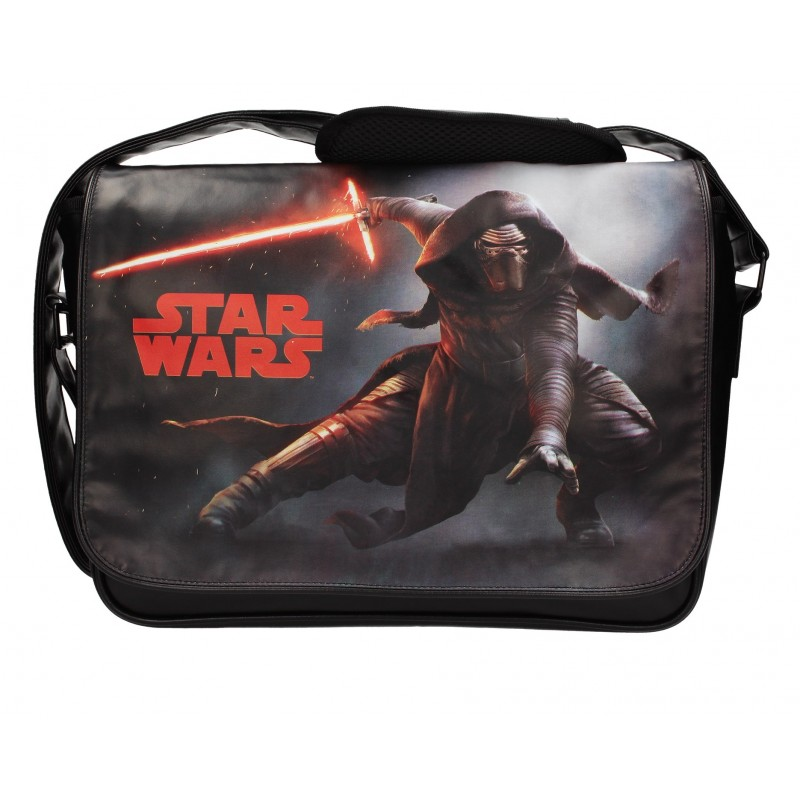 STAR WARS: THE FORCE AWAKENS - KYLO LIGHTSABER MESSENGER BAG (SDTSDT89010)