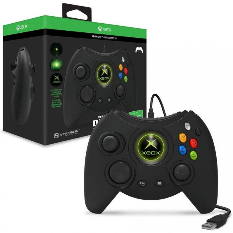 Hyperkin - Duke Wired Controller for XB1 Windows PC (BLACK)  Xbox One