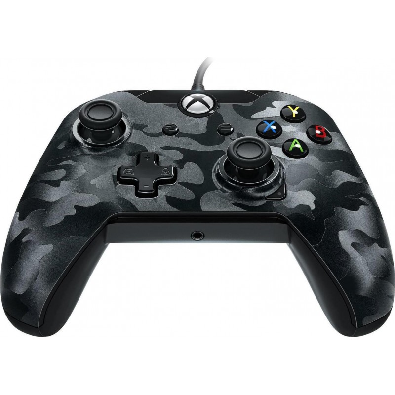 PDP Wired Controller – Black Camo  Xbox One