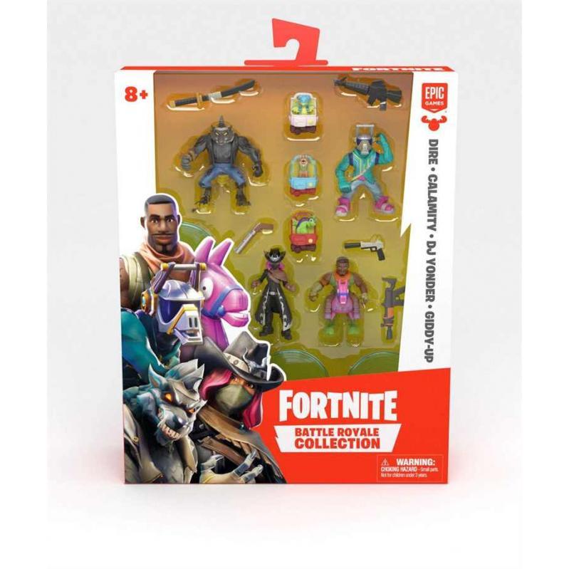 Fortnite - Battle Royale Collection: Squad Mini Figure Asst. Pack (Wave 2) -Toys FRT14100