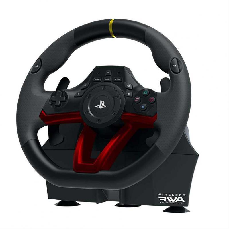 HORI RWA: Wireless Racing Wheel Apex PS4 (CRD) 52037