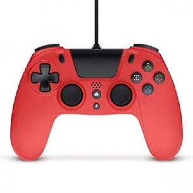 Gioteck VX4 Wired Red Controller (PS4 and PC) (CRD) 52046