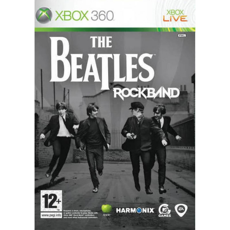 (S) Rock Band: The Beatles (Solus) (SOILED)  X360
