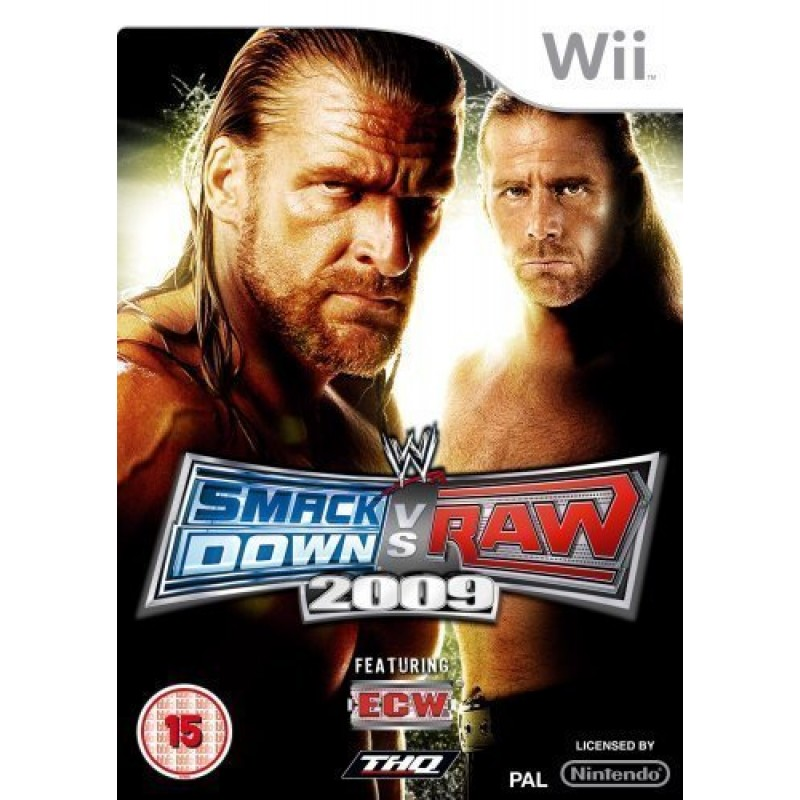 WWE SmackDown! vs. RAW 2009  Wii