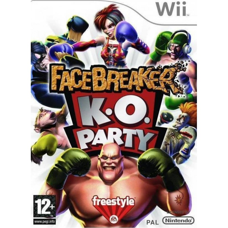 Facebreaker K.O Party  Wii