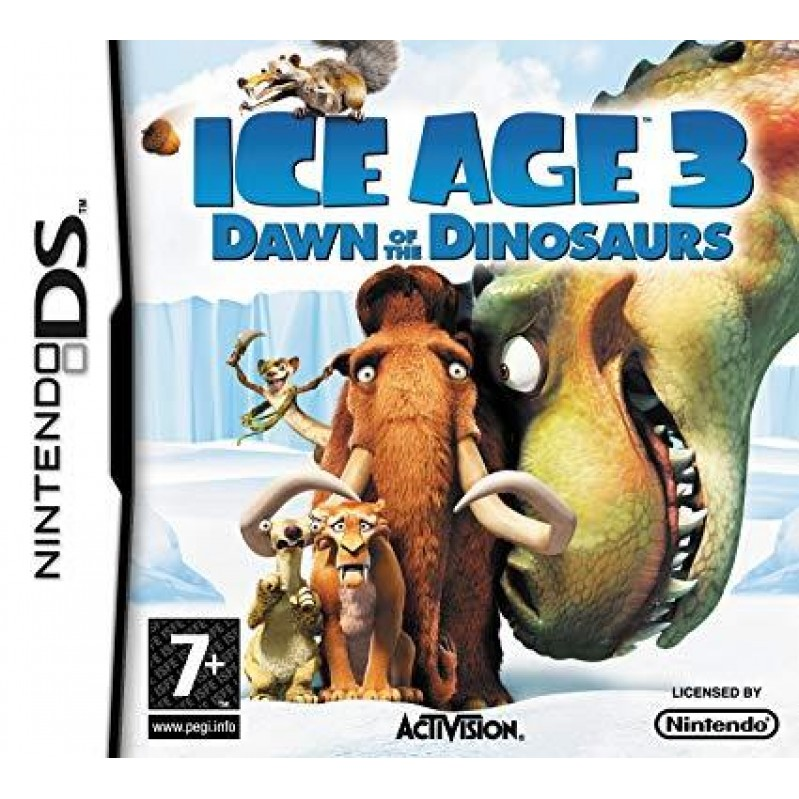 Ice Age 3: Dawn of the Dinosaurs  NDS