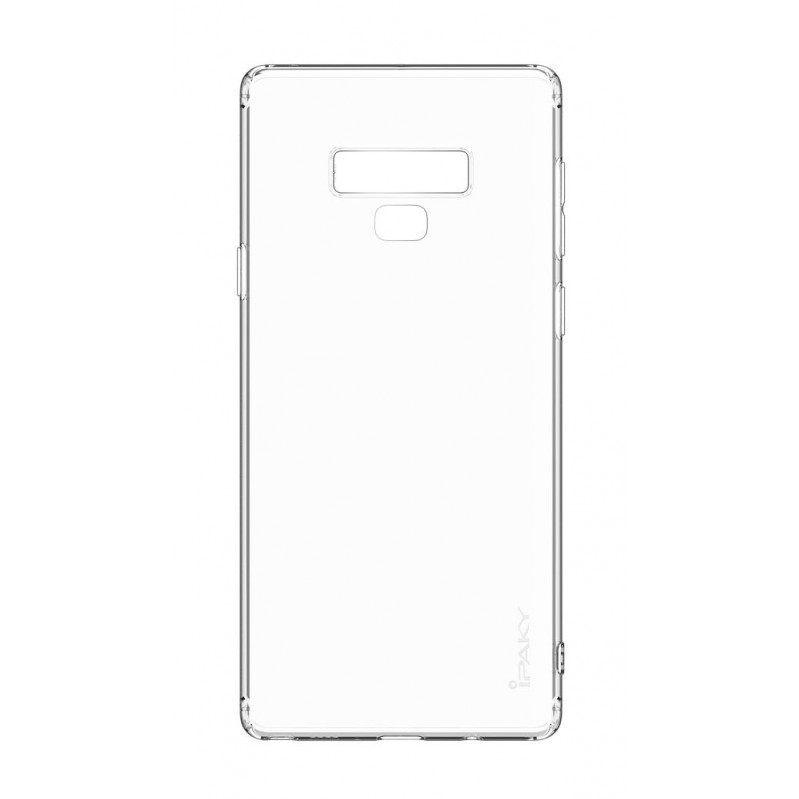 IPAKY Θήκη Effort TPU & tempered glass, Samsung Galaxy Note 9, διάφανη  (DATM) 56824