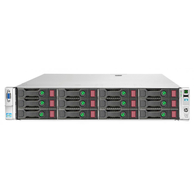 HP Server ProLiant DL380e Gen8, 2x E5-2450L, 8GB, 2x 750W, REF SQ (DATM) 60504